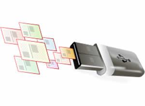 Via USB - Festplatte sicher löschen